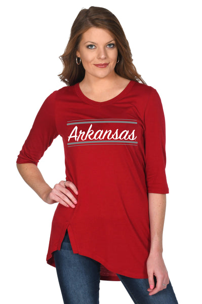 Arkansas Razorbacks Women's Top