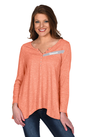 Tennessee Vols Cozy Henley Top
