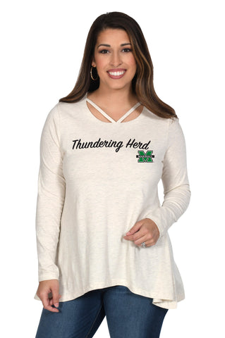 Marshall Thundering Heard Women's Top