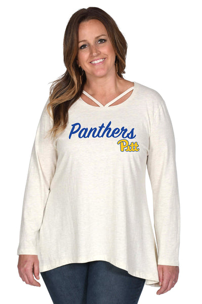 Pitt Panthers Women's Plus Size Top