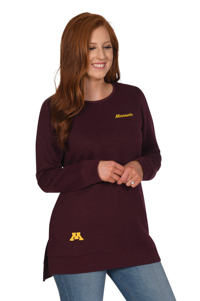 University of Minnesota Quilted Pocket Tunic