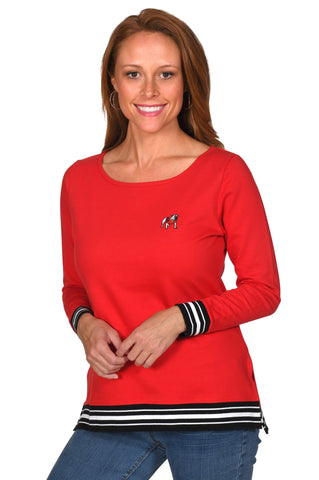 Georgia Bulldogs Women's Top