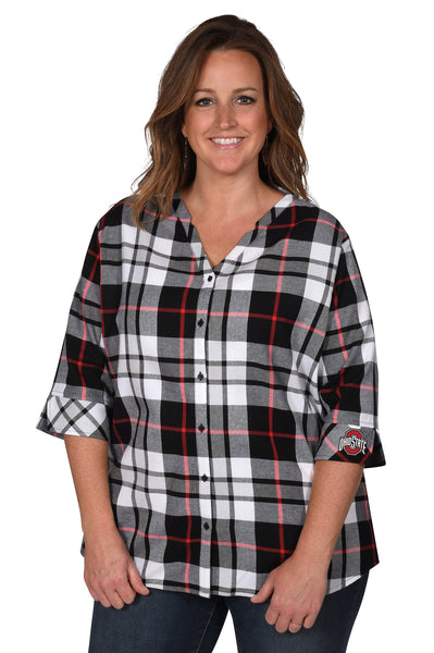 Ohio State Buckeyes Women's Plus Size Top
