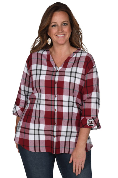 South Carolina Gamecocks Women's Plus Size Top