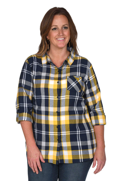 West Virginia Mountaineers Women's Plus Size Top