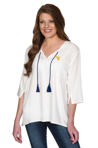 West Virginia Mountaineers Women's Top
