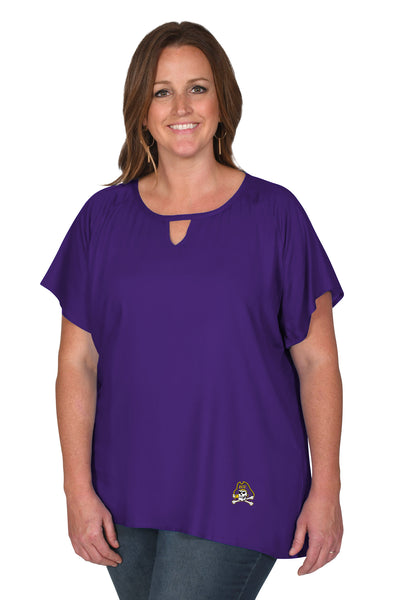 East Carolina Pirates Women's Plus Size Top