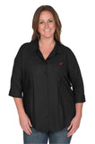 Black Alabama Crimson Tide Women's Plus Size Top