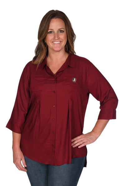 Florida State Seminoles Women's Plus Size Top