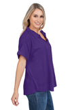 LSU Tigers Dolman Sleeve Top