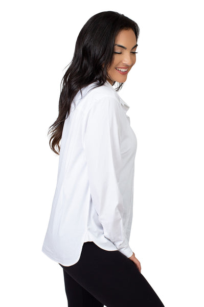 South Carolina Classic White Poplin Shirt