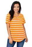 Tennessee Vols Striped Sweet Tee