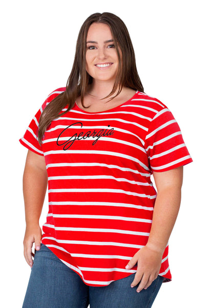 Georgia Plus size womens shirt