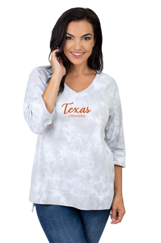 Texas Longhorns Tie Dye Top