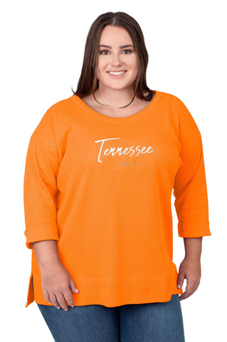 Plus Size Tennessee Vols Favorite Waffle Top