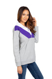Clemson Tigers Colorblock Quarter Zip