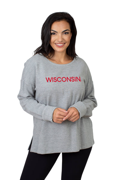 Wisconsin Badgers Ribbed Pullover