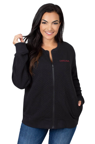 South Carolina Quilted Fleece Jacket