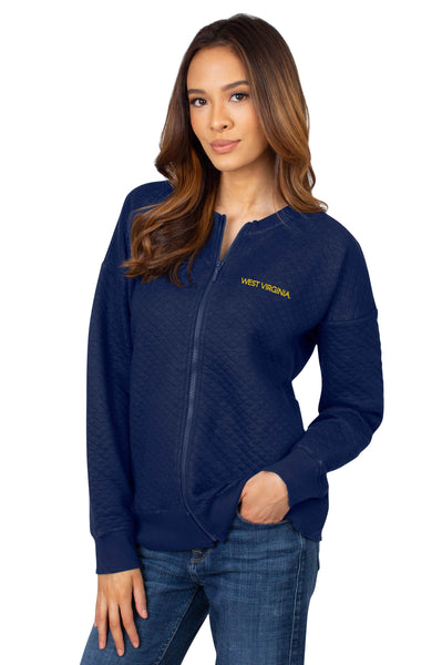 WVU Mountaineers Quilted Fleece Jacket