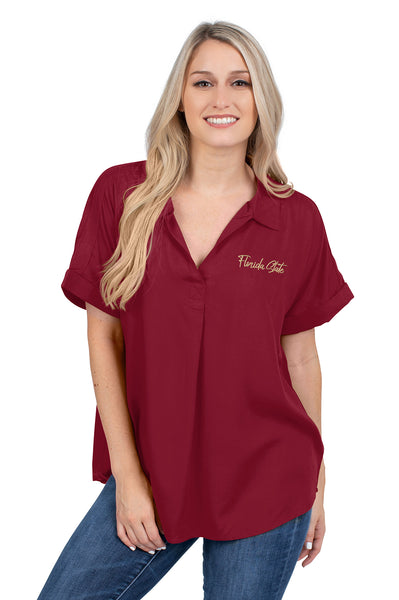 Florida State Dolman Sleeve Top