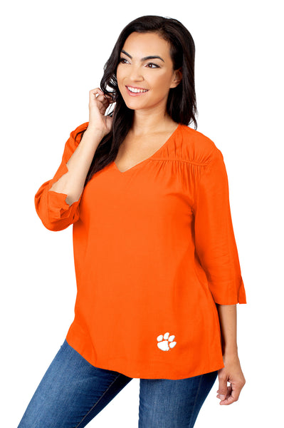 Clemson Tigers Orange Blouse
