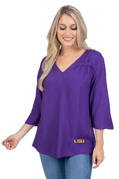 LSU Purple Ladies Blouse