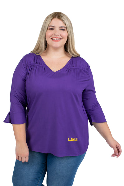 LSU Tigers Plus size Blouse