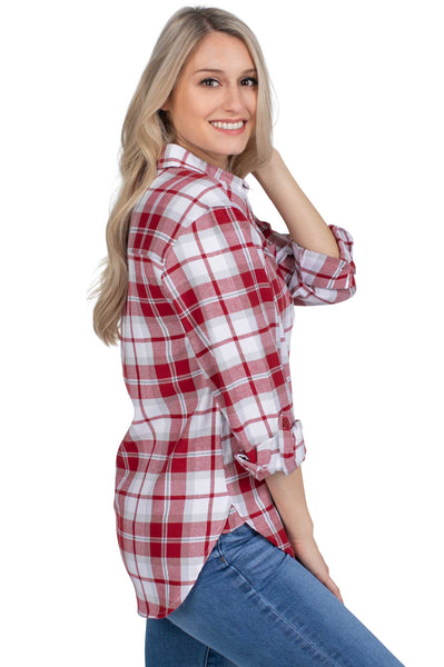 Arkansas Razorbacks Perfect Plaid Shirt