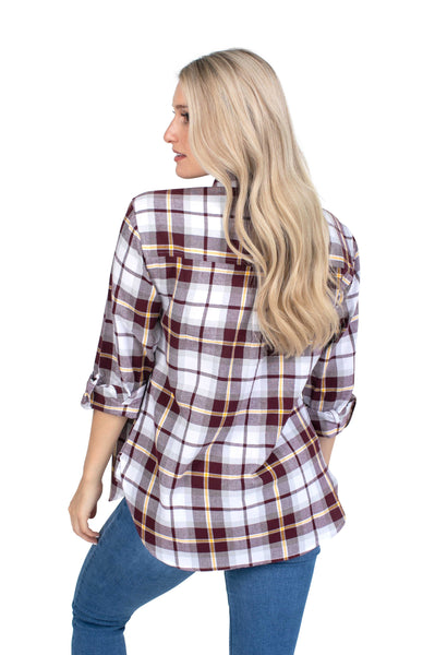 Minnesota Gophers Perfect Plaid Shirt