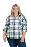Plus Size Baylor Bears Perfect Plaid Shirt