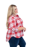Plus Size NC State Perfect Plaid Shirt