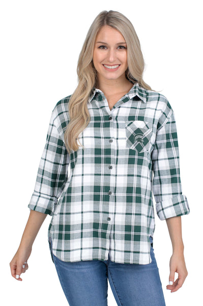 Michigan State Perfect Plaid Shirt