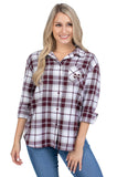 Mississippi State plaid shirt