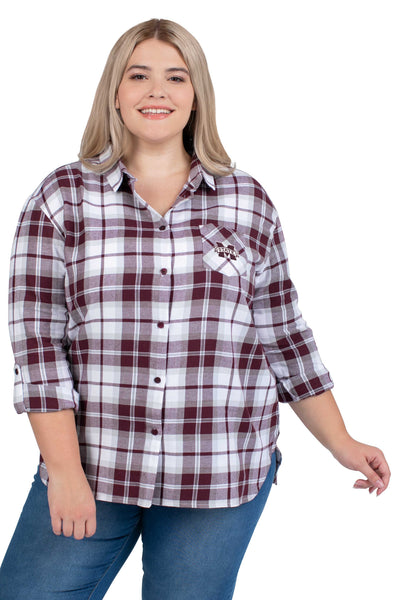 Mississippi State Plus Size shirt ladies