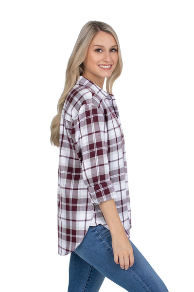 Mississippi State Perfect Plaid Shirt
