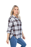 NC State Black Perfect Plaid Shirt