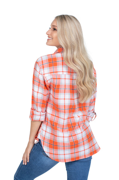Oklahoma State Perfect Plaid Shirt