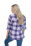 TCU Perfect Plaid Shirt