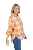 Tennessee Vols Perfect Plaid Shirt
