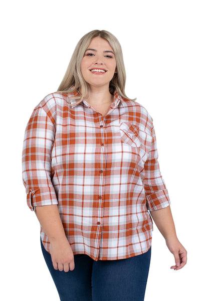 Texas Longhorns plus size ladies shirt