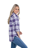 Washington Huskies Perfect Plaid Shirt