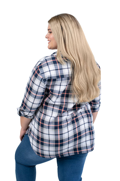 Plus Size Virginia Cavaliers Perfect Plaid Shirt