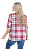 Alabama Crimson Tide Plaid Cardigan