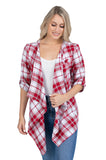 Alabama plaid cardigan