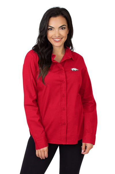 Arkansas Razorbacks Classic Poplin Shirt