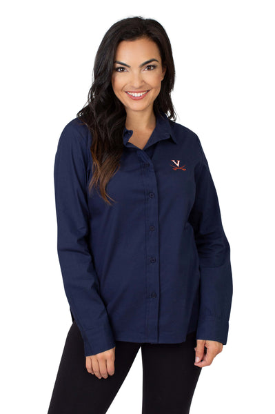 University of Virginia Button Down womens