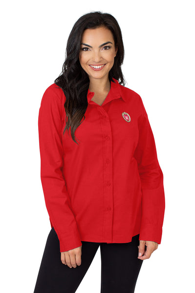 Wisconsin Badgers Classic Poplin Shirt