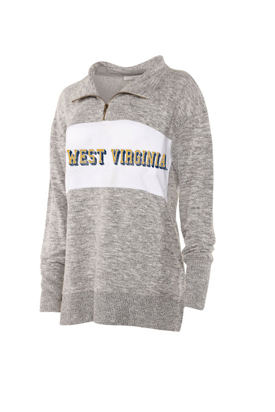 WVU Cozy Fleece 1/4 Zip