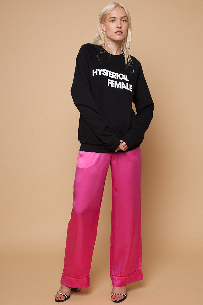 RACHEL ANTONOFF HYSTERICAL FEMALE SWEATSHIRT
