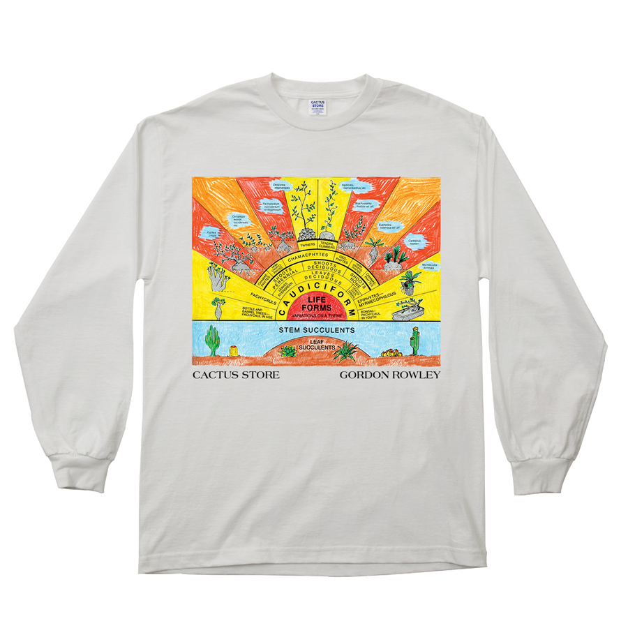Caudiciform Life Forms Long Sleeve T-Shirt
